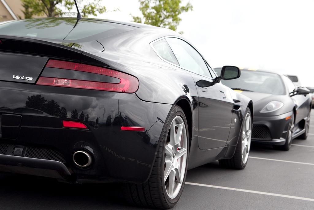 Aston and Ferrari
